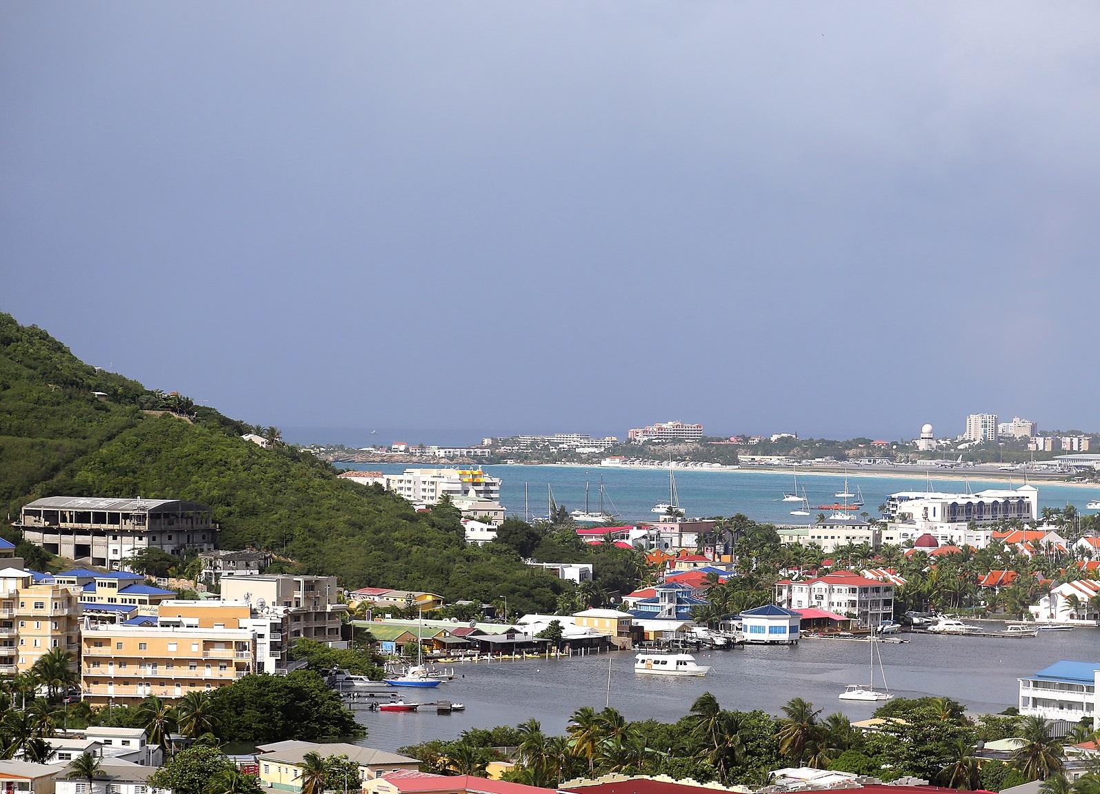 St. Maarten - Blick auf Philipsburg