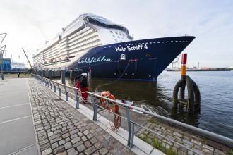 Mein Schiff 4 in Hamburg
