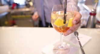 Cocktail in der Diamant Bar