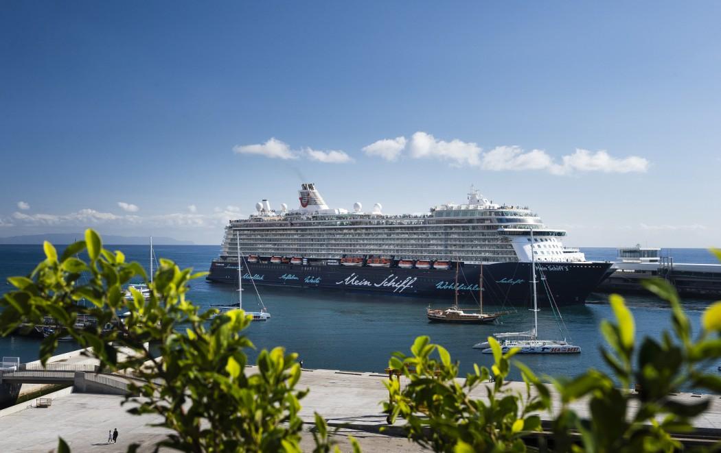 Mein Schiff 3 in Madeira