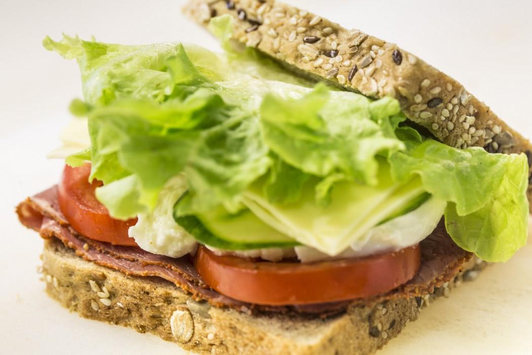 Knackig und lecker: Die Sandwiches auf der Mein Schiff 3
