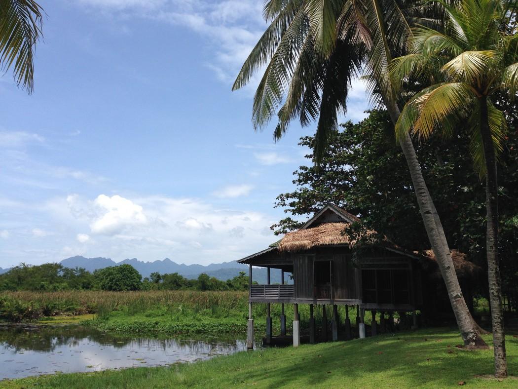 Die idyllische Landschaft auf Langkawi