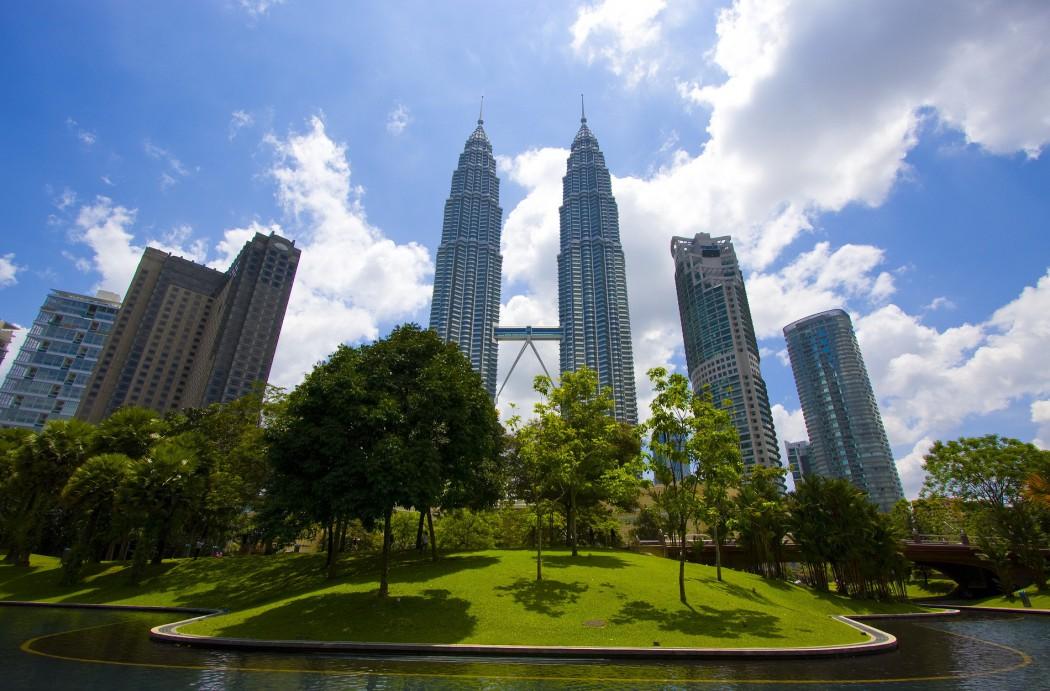 Der Petronas Twin Tower in Kuala Lumpur