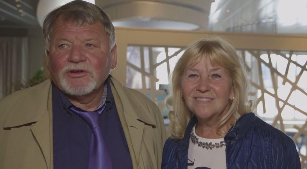 Doris & Peter erzählen von ihrem Wohlfühlmoment auf der Mein Schiff Flotte