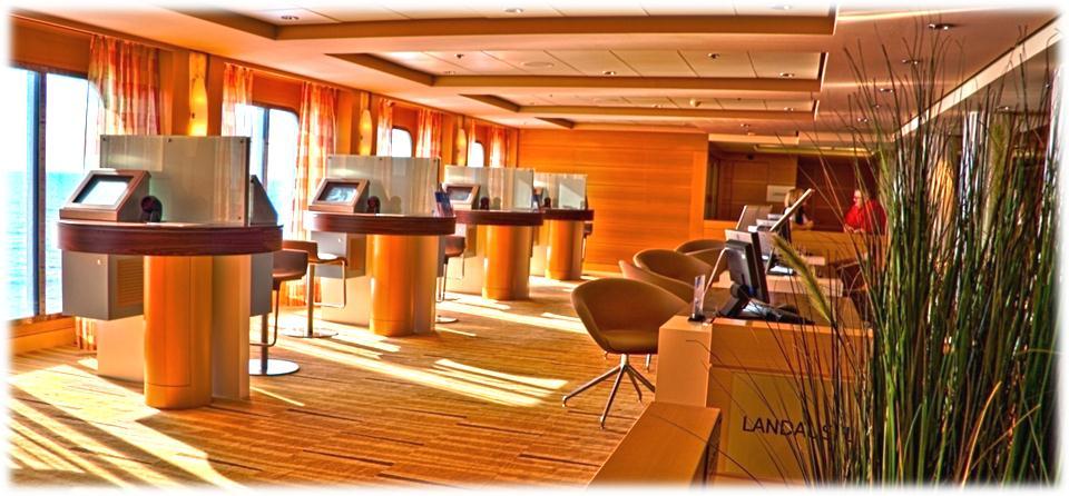 Der Ausflugs-Counter auf der Mein Schiff 1