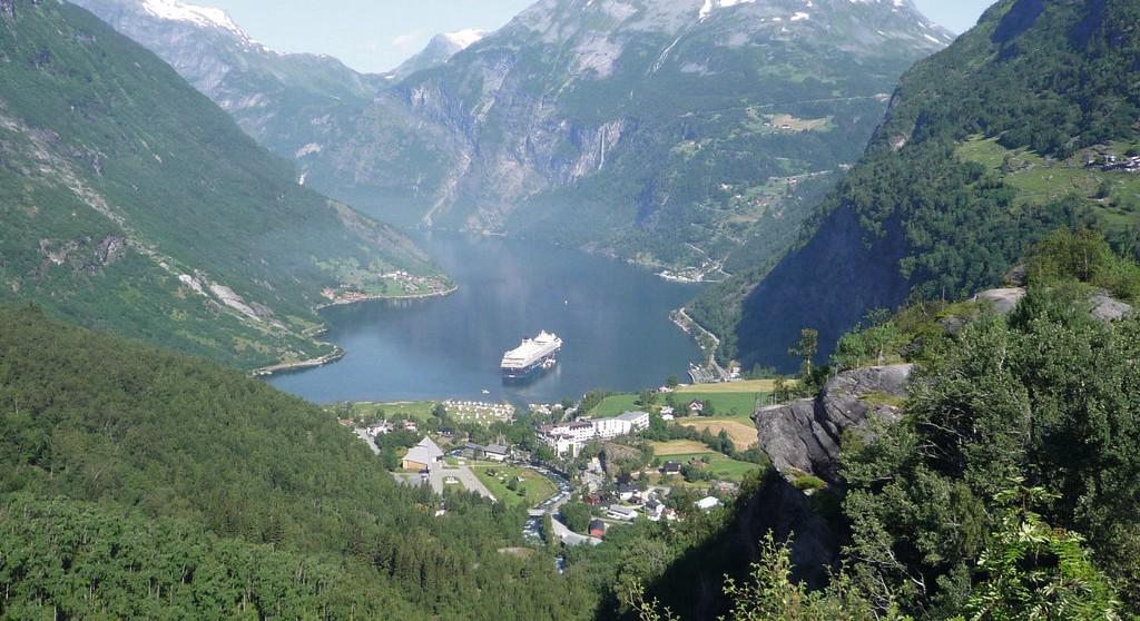 Spektakuläre Fjorde