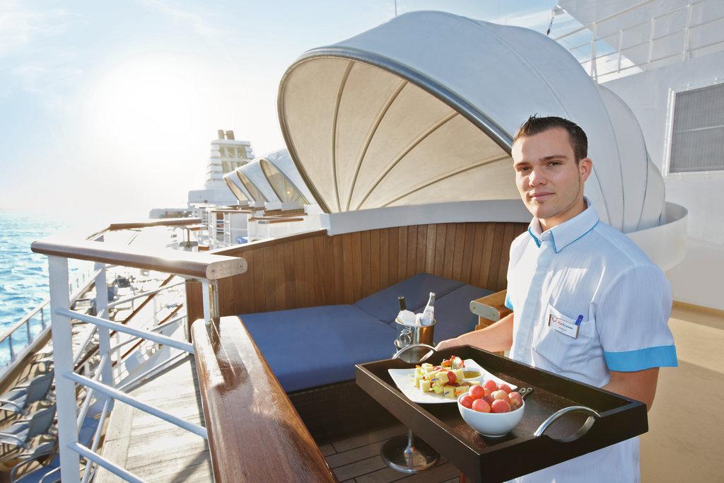 Entspannungsinseln auf der Mein Schiff 1