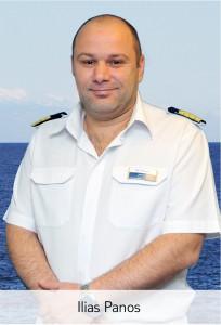Mein Schiff Chief Engineer Ilias Panos