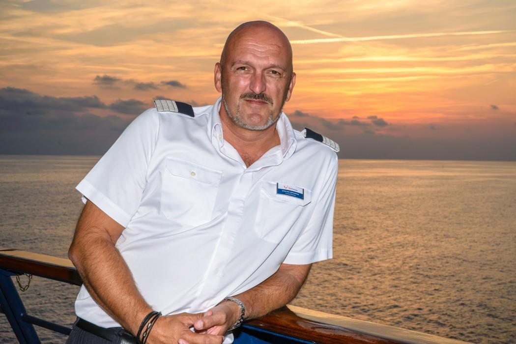 Mein Schiff Kreuzfahrt-Direktor Stephan Zimmermann