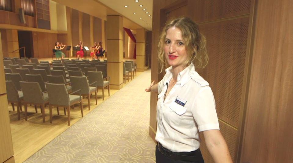 Klanghaus-Managerin Eva Gabronova
