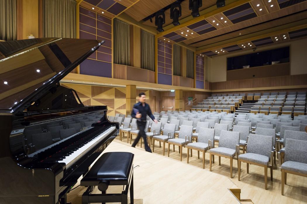 Die Bühne des Klanghauses auf der Mein Schiff 3
