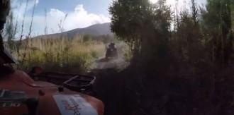 Querfeldein-Action beim Quad-Abenteuer am Ätna