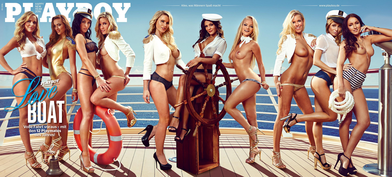 Das Cover vom Playboy-Dezemberheft 2016