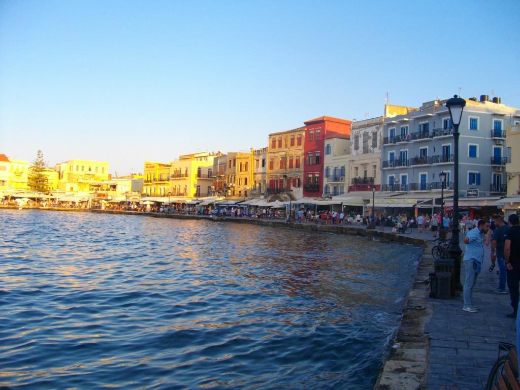 Hafenpromenade in Chania auf Kreta