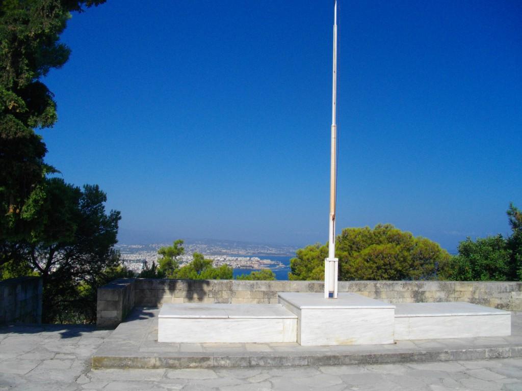 Wunderschöner Ausblick von Evangelos Venizelos Grabstätte