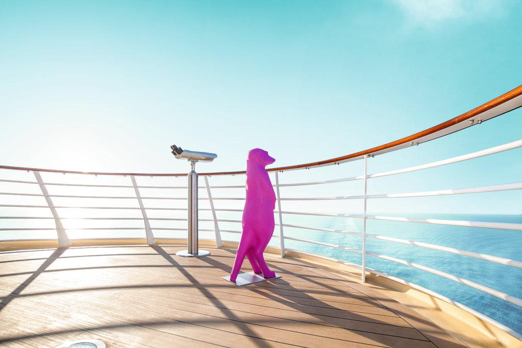 Ausguck an Bord der Mein Schiff 3