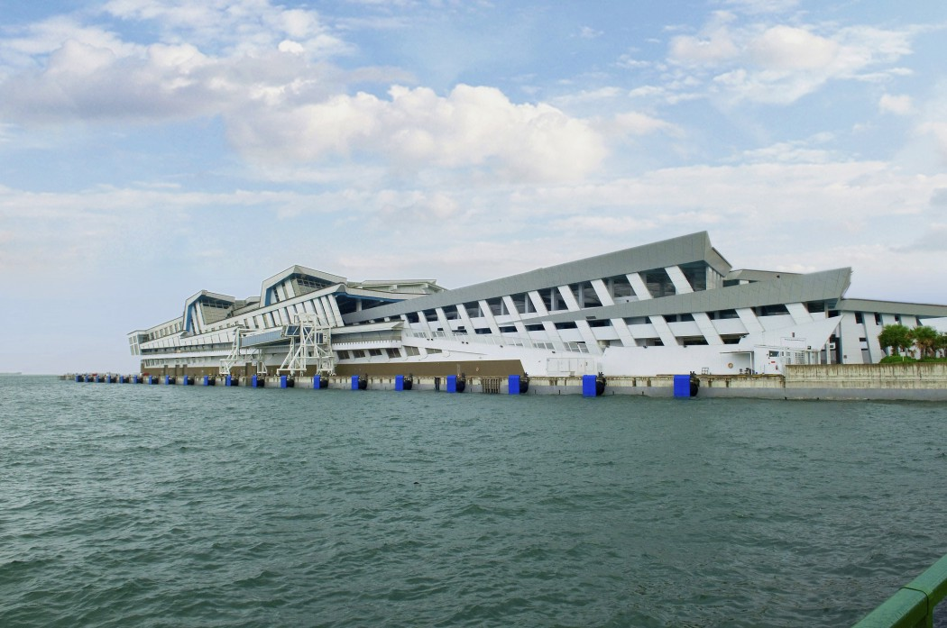 Marina Bay Cruise Center in Singapur