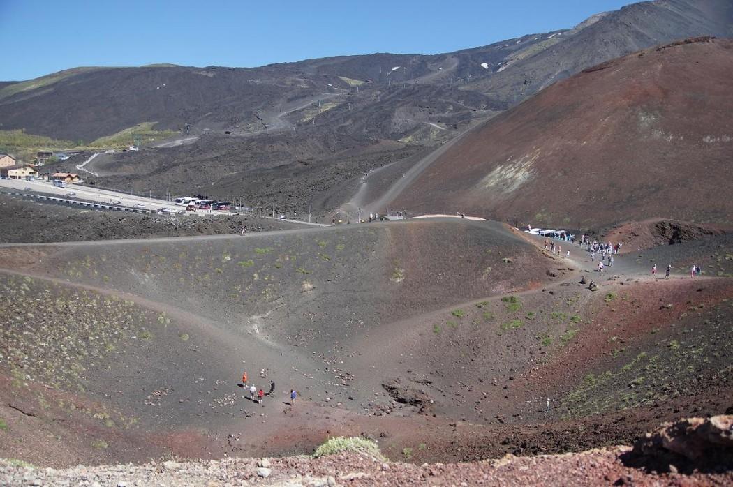 Ausflugsziel: der Vulkan Ätna