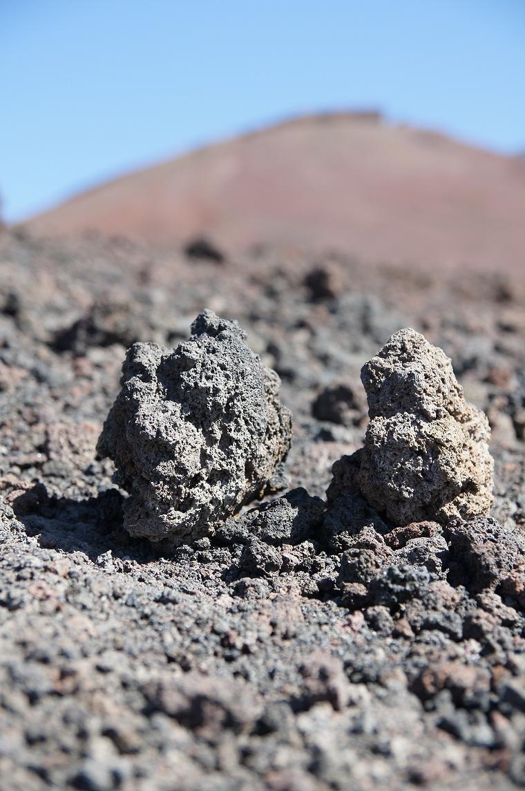 Vulkangestein am Ätna