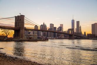 Mit Mein Schiff 6 die Brooklyn Bridge New York (USA) entdecken