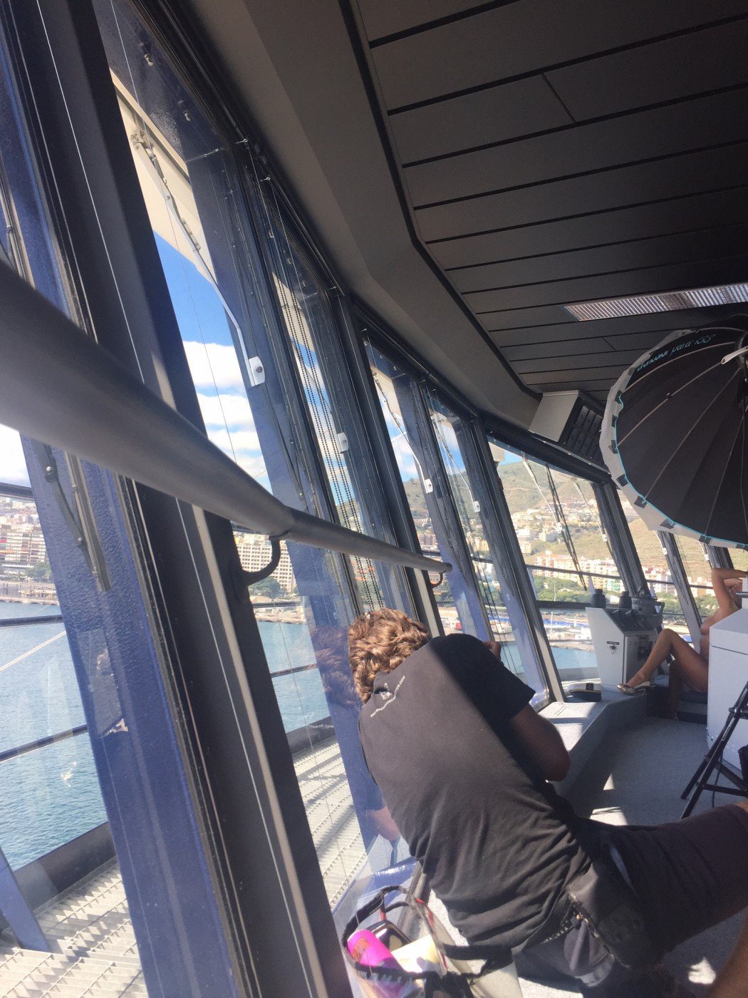 Playboy Shooting auf der Brücke der Mein Schiff 4 (1)