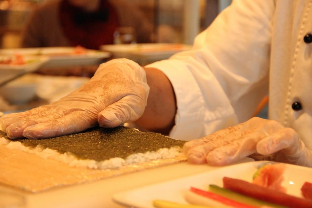 Sushi Workshop an Bord der Mein Schiff Flotte von TUI Cruises 1
