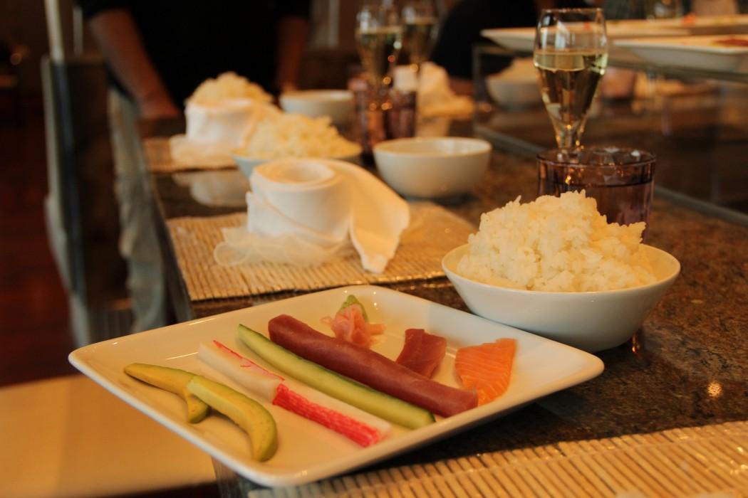 Sushi Workshop an Bord der Mein Schiff Flotte von TUI Cruises 6