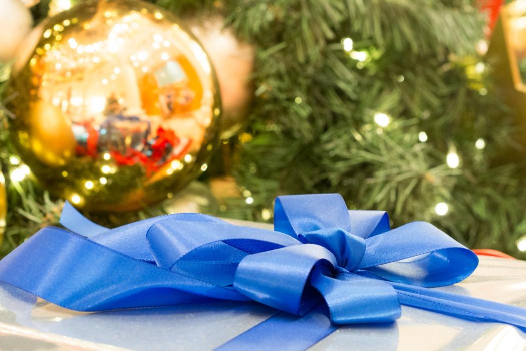Die Geschenke sind bereits verpackt