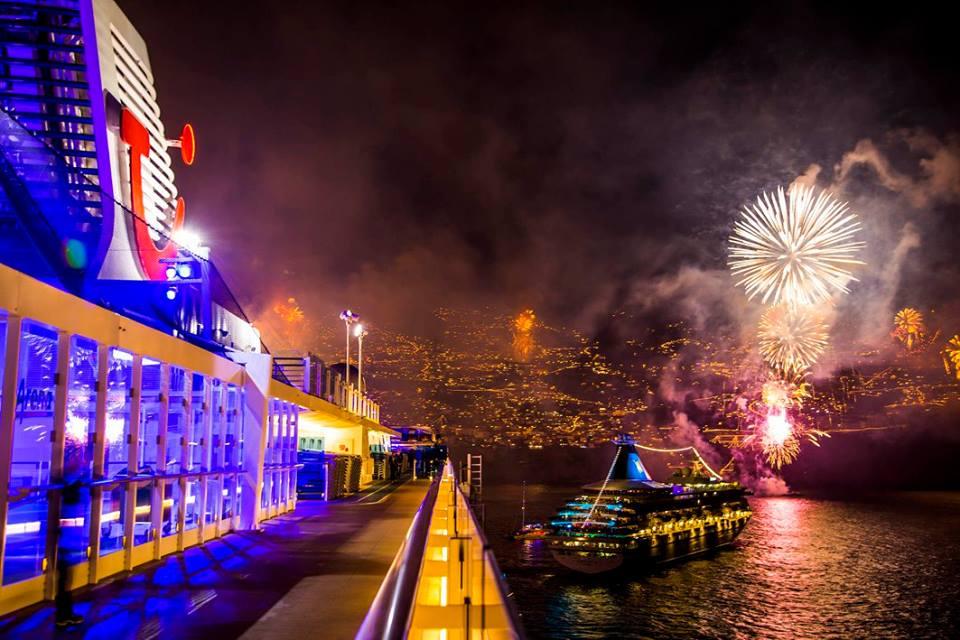 Silvester auf der Mein Schiff von TUI Cruises
