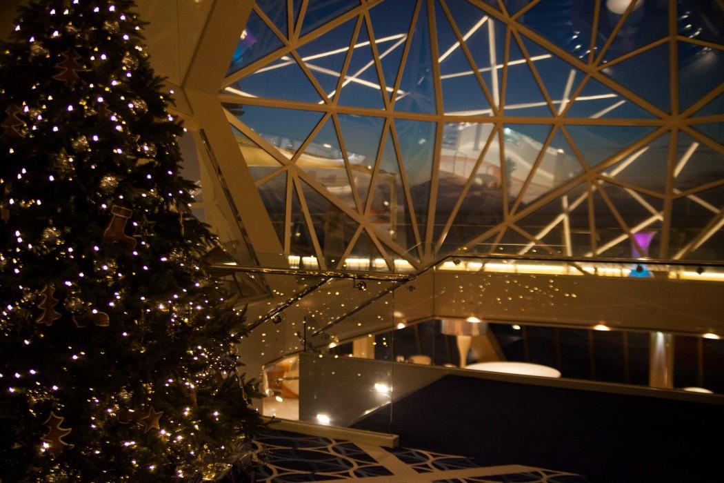"""Weihnachten im """"Diamanten"""" der Mein Schiff 3"""