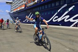 Grün & Fair: Bike-Ausflüge auf der Mein Schiff Flotte