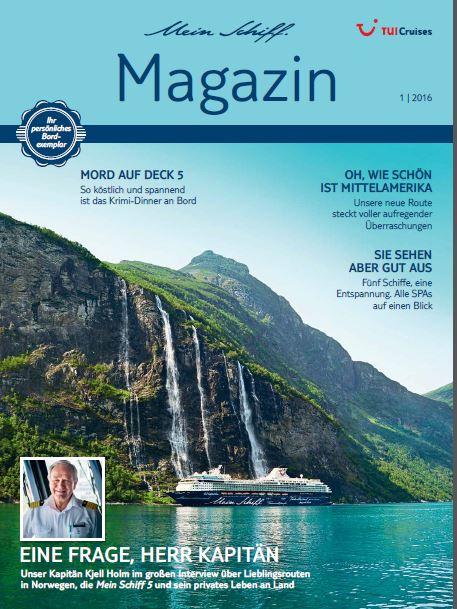 Das Mein Schiff Magazin