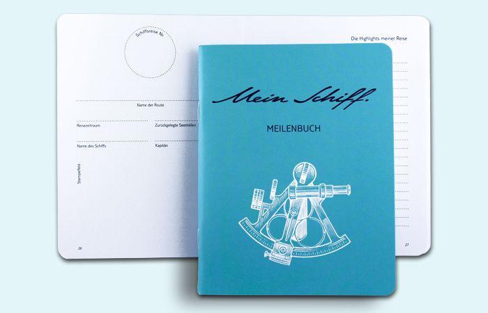 Das Mein Schiff Meilenbuch