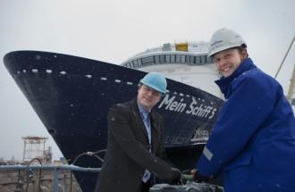 Mein Schiff 5: Das erste Mal Wasser unter dem Kiel