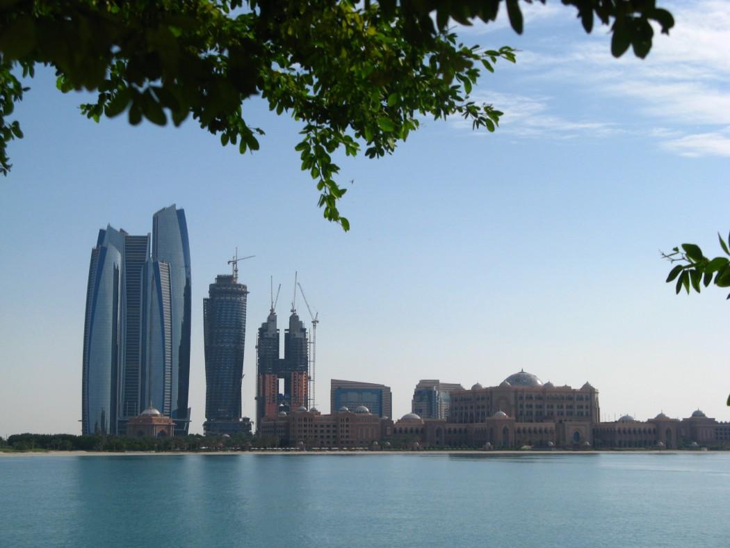 Blick auf die Abu Dhabi Marina