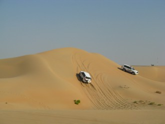 Jeep Safari durch die Wüste Abu Dhabis