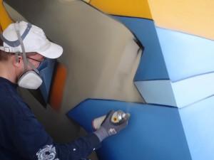 Impressionen des DAIM Kunstwerks auf der Mein Schiff 4