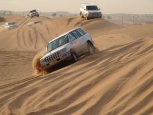 Jeepausflug in die Wüste Dubais