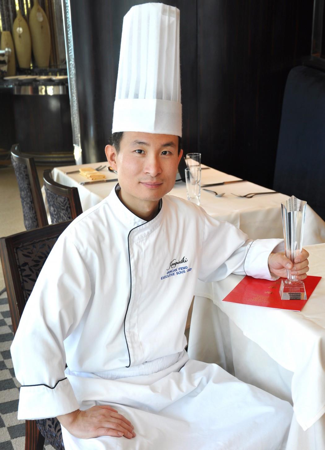 Mein Schiff Gastkoch: Duncan Feng vom Kempinski Grand Hotel Shanghai