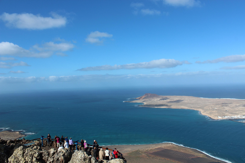 Was für eine Aussicht: Mirador del Rio auf Lanzarote
