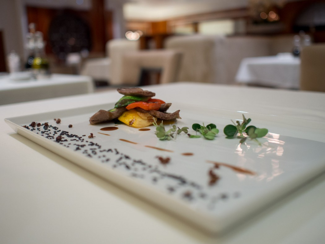 Exquiste Kompositionen der asiatischen Kempinski Köche auf der Mein Schiff 1