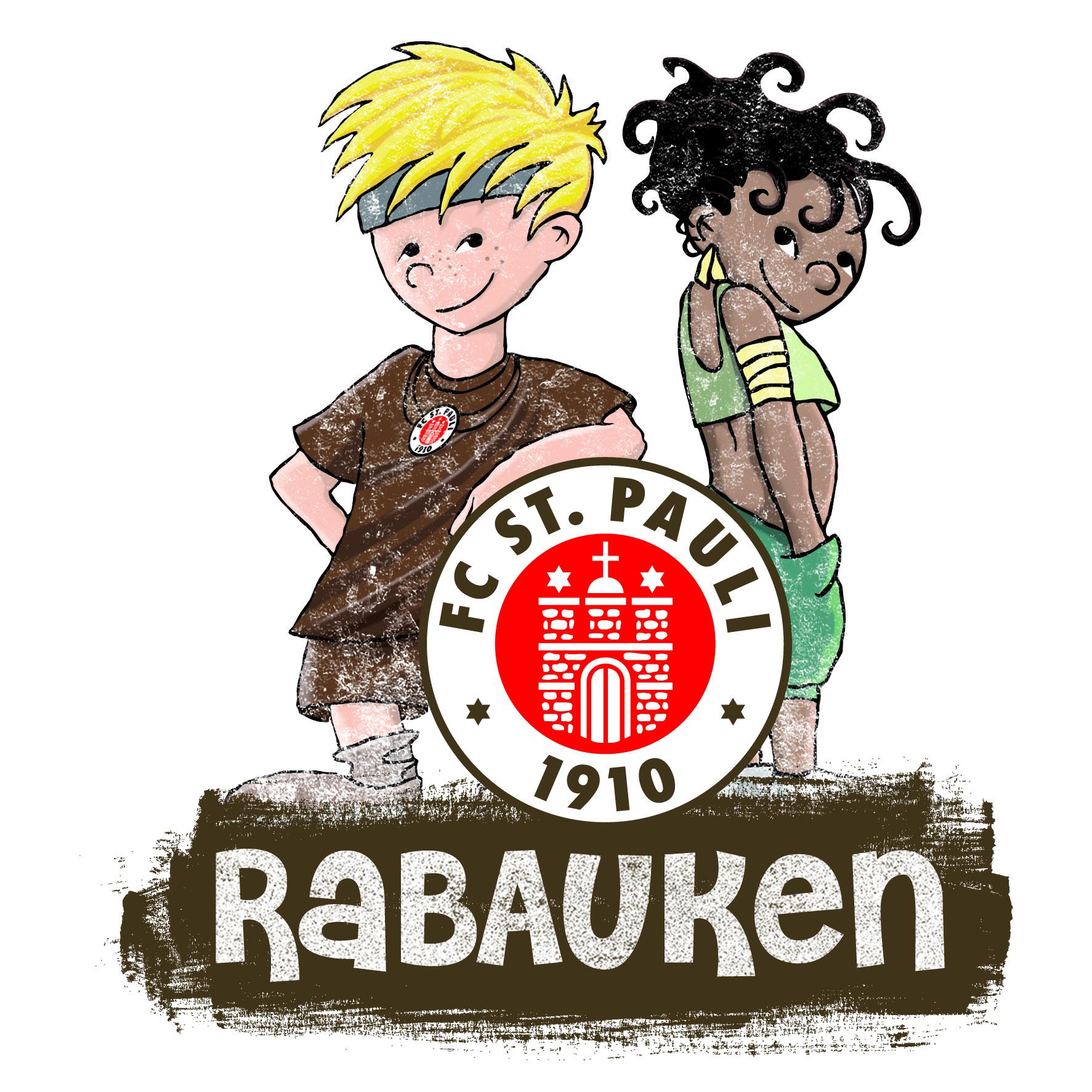 Das Logo der St. Pauli Rabauken