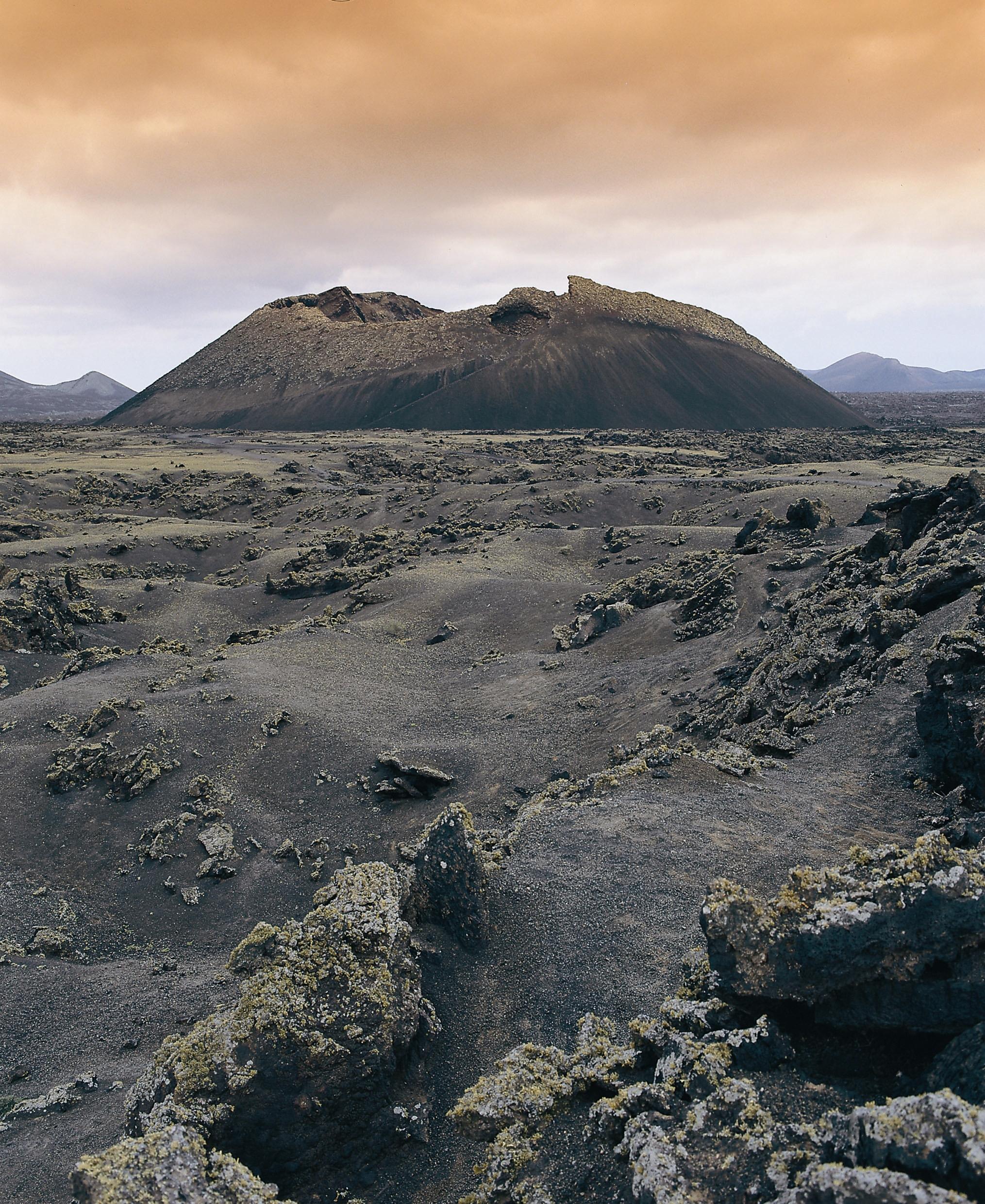 Wie eine Mondlanschaft: Der Timanfaya Nationalpark auf Lanzarote
