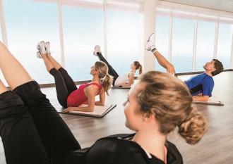 Fitness-Kurs an Bord der Mein Schiff Flotte