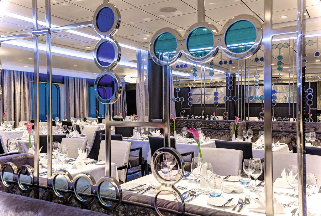 Das Restaurant Atlantik - Klassik auf der Mein Schiff 4