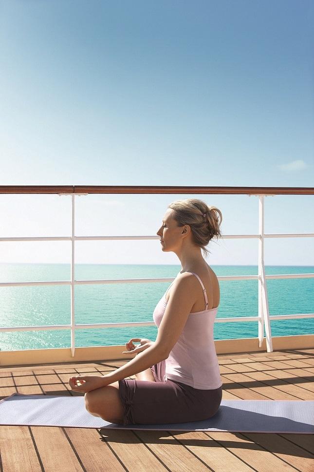 Yoga-Woche an Bord der Mein Schiff 4
