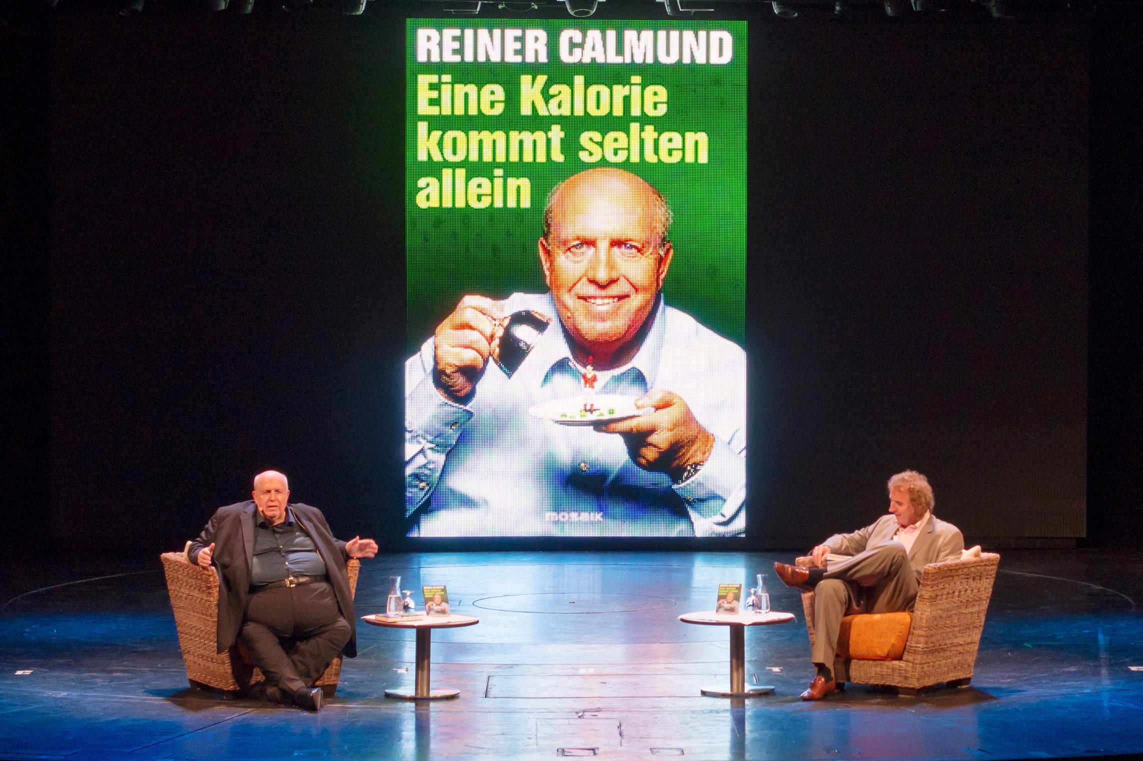 """""""Eine Kalorie kommt selten allein"""": Reiner Calmund stellt sein Buch auf der Mein Schiff 1 vor"""
