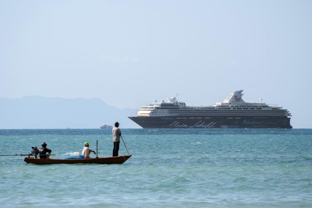 Die Mein Schiff 1 vor Koh Samui