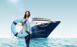 Glamour Pur mit Conchita auf der Mein Schiff 2