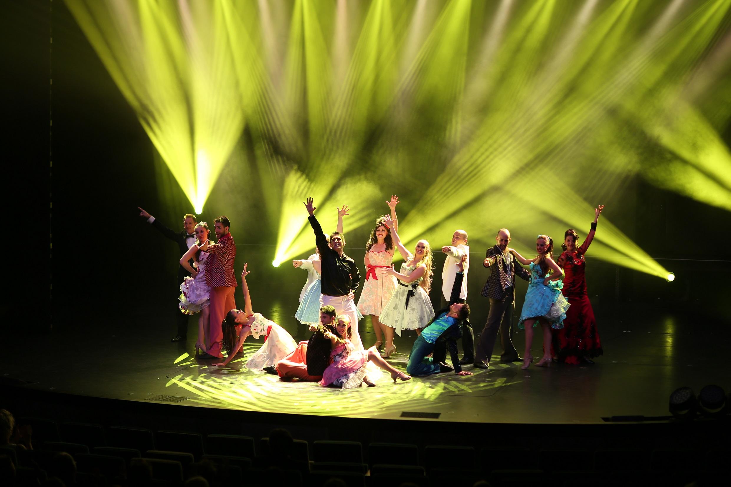 Das Finale der Musical Gala auf der Mein Schiff 3